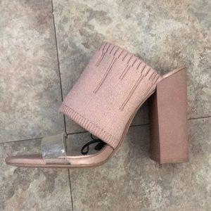 Zara nude high heels